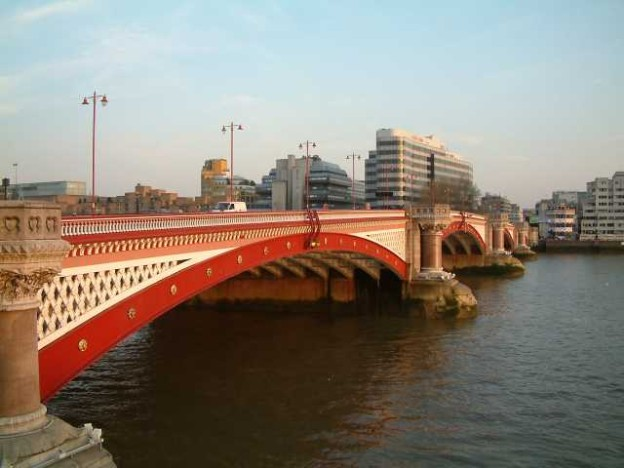 The Blackfriars Bridge, London