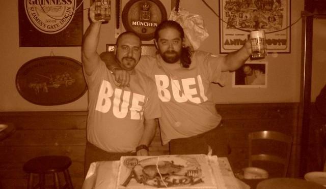 """Quella sera alla birreria """"Ai buei"""" di Bassano del Grappa, con Riccardo e Andrea"""