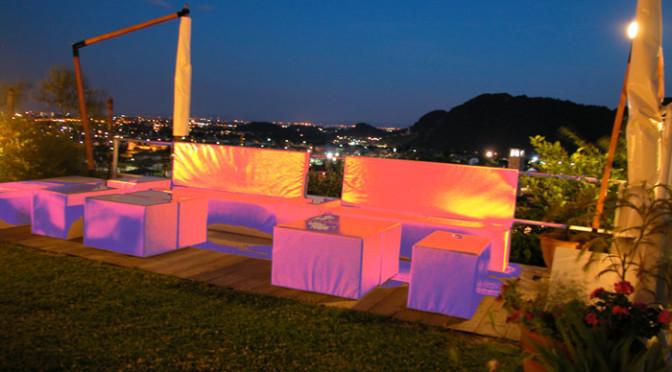 La serata a villa Ghiselli in compagnia di Nives